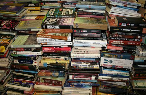 Books left behind