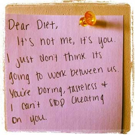 Ditch the diet