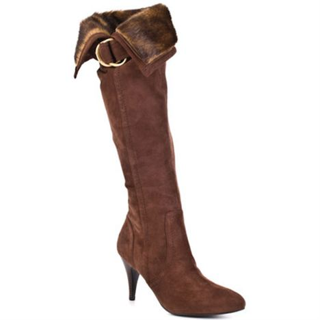 Guess Bolim Brown Multi Suede Boots