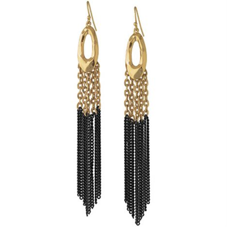 Stella and Dot Lillith Fringe Earrings