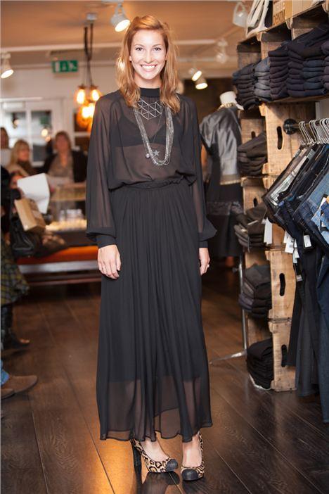Black White Denim Fashion Show