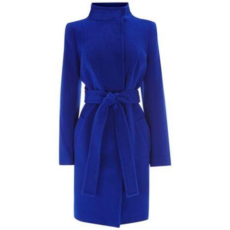 Allisa Cobalt Blue Coat