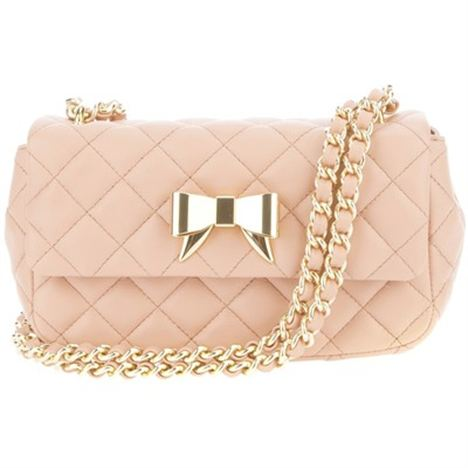 Moschino Cheap & Chic Quilted Bow Tote