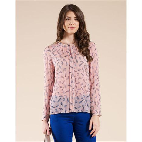 Savannah Printed Silk Shirt