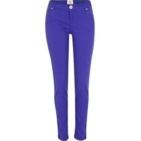 Bright Blue Super Skinny Jeans