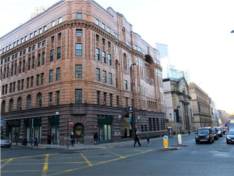 A beautiful threesome. The former YMCA, Theatre Royal and The Free Trade Hall