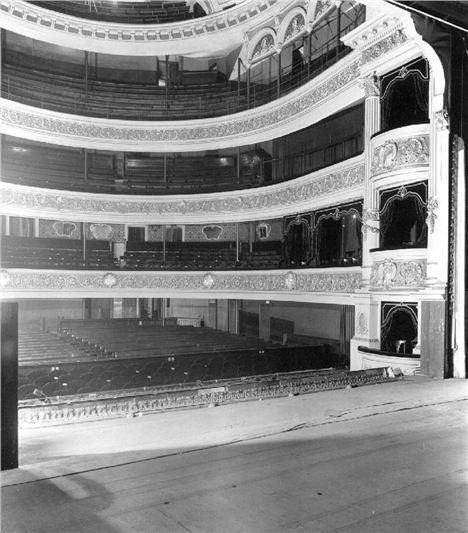 Theatre Royal Interior 100 plus years ago