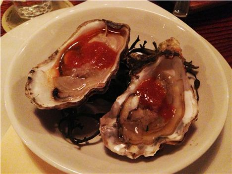 Naughty failed oysters