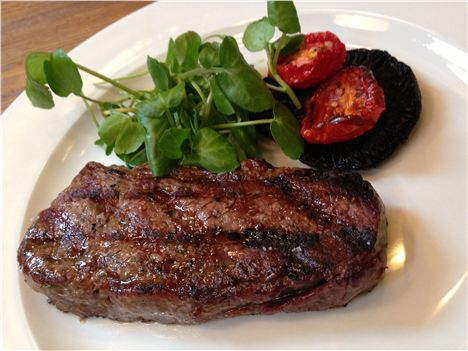One of the Albert Square Chop House steaks