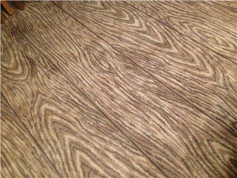 Fabric lamination carpet - good idea?