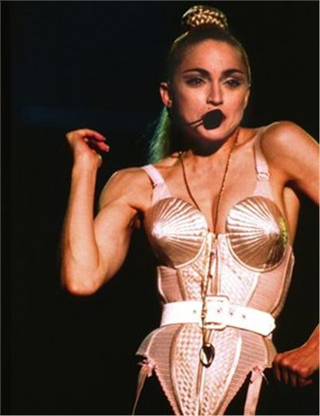 Image result for madonna breast cone