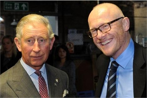 Charles was ever so disappointed, he thought it was Heston