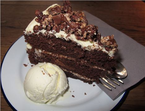 Double Decker Chocolate Cake At Terrace Nq