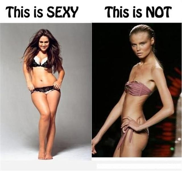 Real men like women with curves