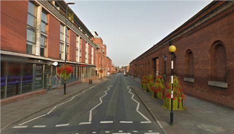 Liverpool Road - Akbar's (left), MOSI (right)