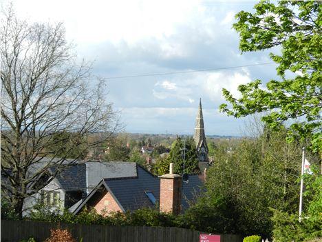 Alderley Edge rooftops