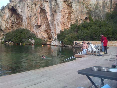 Vougliameni Lake