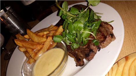 Steak and beefy lip salve