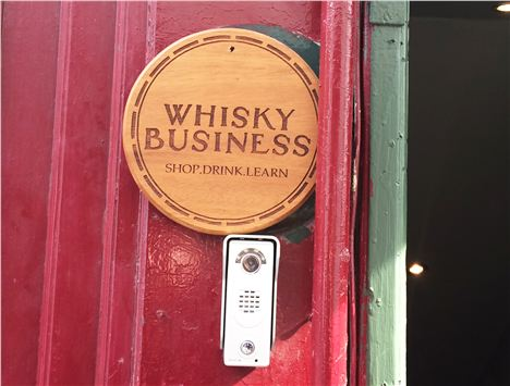 Whisky Business Sign