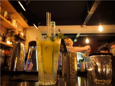 Aloe Vera Gin Fizz