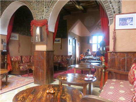 The Kasbah Interior