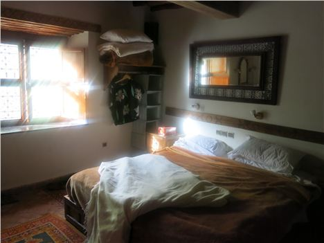 Our Kasbah Bedroom