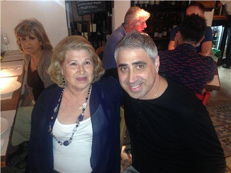 Senora Teresa and Senore Maurizio