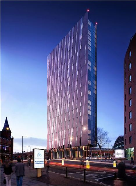 Axis Tower for Whitworth Street West