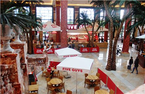 Trafford Centre And Five Guys