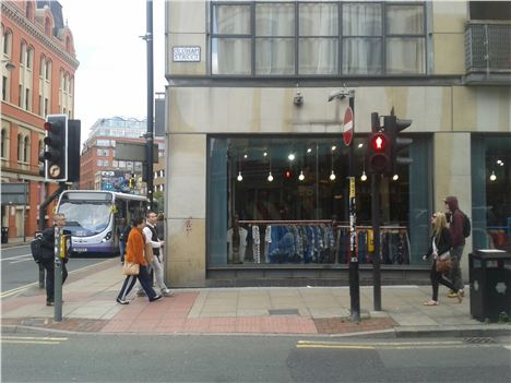 New Cow store on Oldham Street