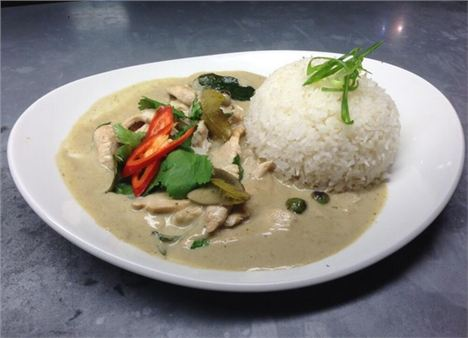 Tampopo's Thai green curry