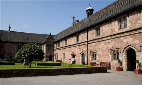 Chetham's - more people should be able to see into the site