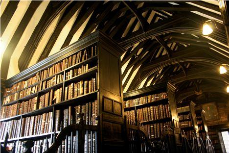 Inside Chetham's Library