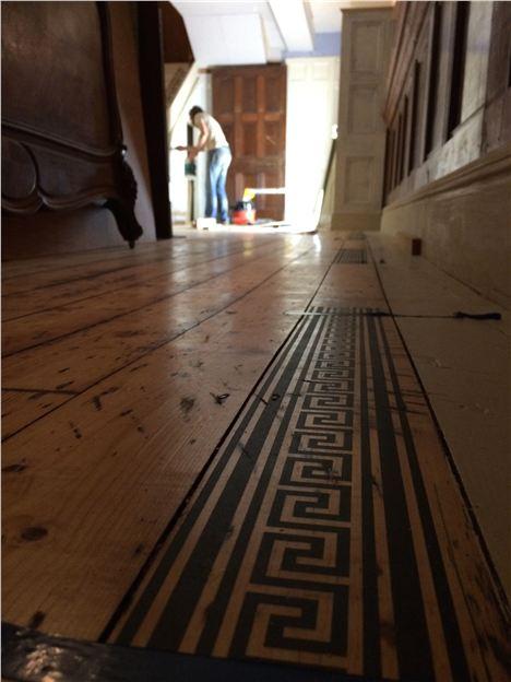 The Beautiful Floor Border Printing