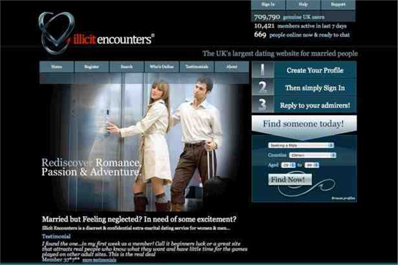 Uks most popular dating websites for extramarital affairs