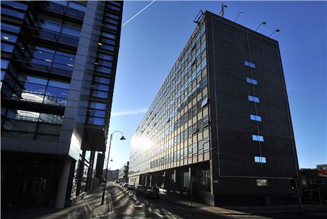 HQ Building at Old Granada Studios to become The Manchester Grande - Atherton Street