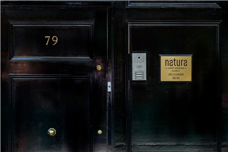 Natura Anti Ageing Clinic Entrance