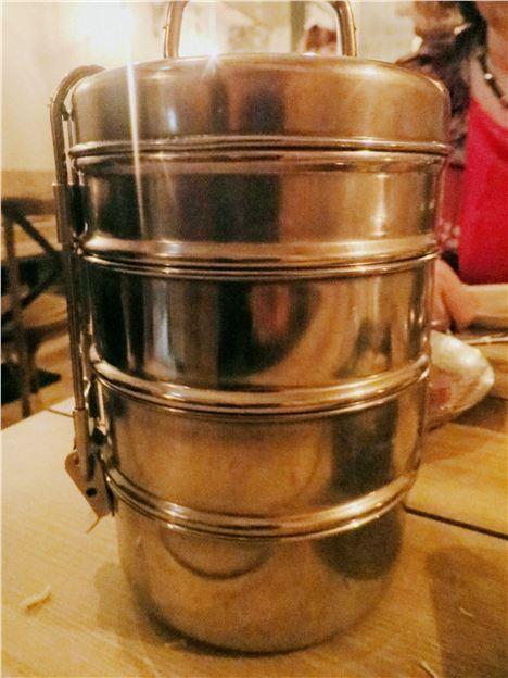 A tiffin tin
