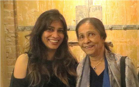 Nisha Katona and her Maa, Meena, from whom she learned everything
