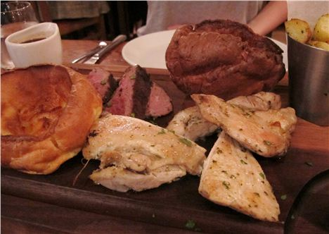 Piccolino's Sunday sharing roast