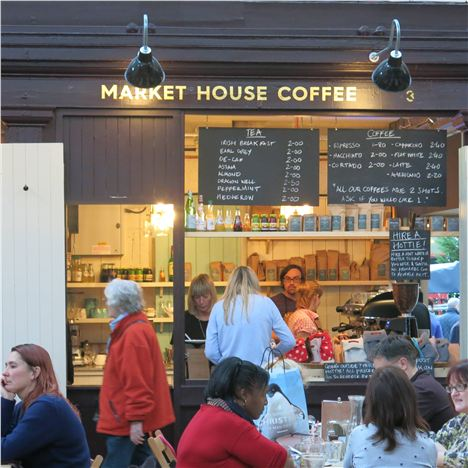 There's A Busy Buzz About The Market House