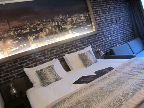 Abel Heywood hotel room (prices start from £70 per night)