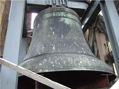 Great Abel, the 8 ton Town Hall hour bell