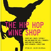 A3 Poster - Hip Hop Wine Shop