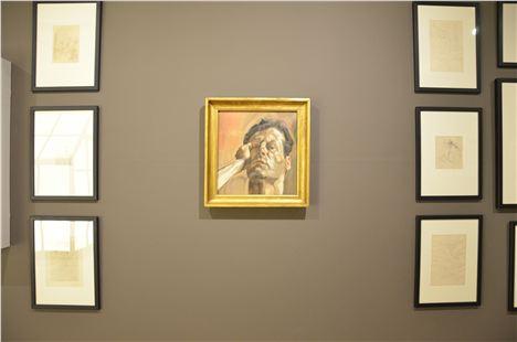 Lucien Freud's self portrait